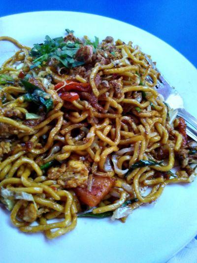 Javanese Fried Noodle Bakmijawa Miegoreng Noodle