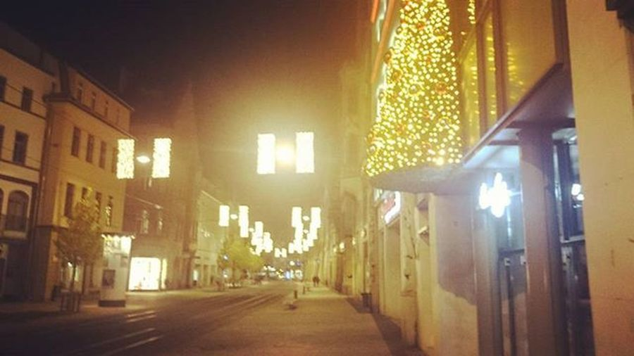 Erfurt Anger Mitternacht