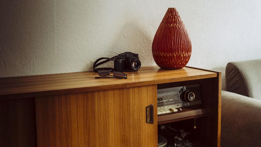 Camera on furniture