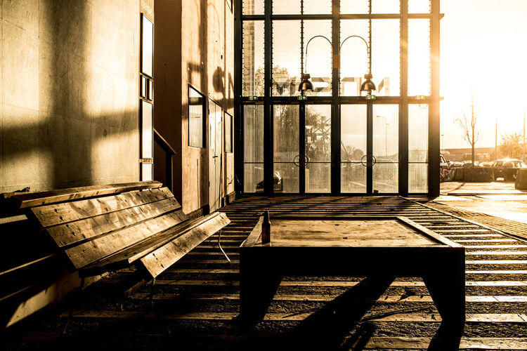 Architecture Built Structure Day Empty No People Outdoors Sunlight Window Wood - Material