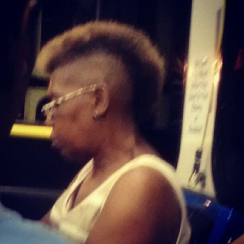 Can somebody explain to me why grandma has a full Mohawk?! ThemohawkisDEAD I'm cutting mine off after seeing this