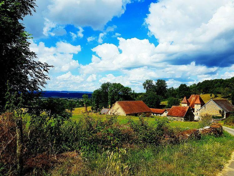 Landscape Cloud - Sky Village Village View Bourgogne Bourgogne-Franche-Comte France