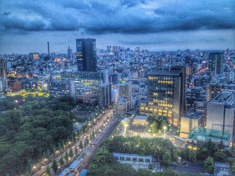 Twilight Tokyo HDR. The Illuminator - 2014 EyeEm Awards Hdr_Collection Landscape Twilight
