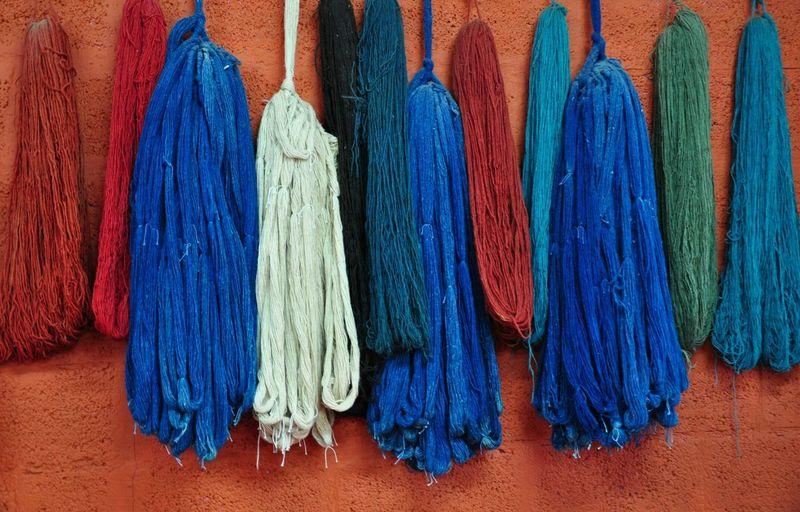 Turkish Cotton Colors Turkey Traveling