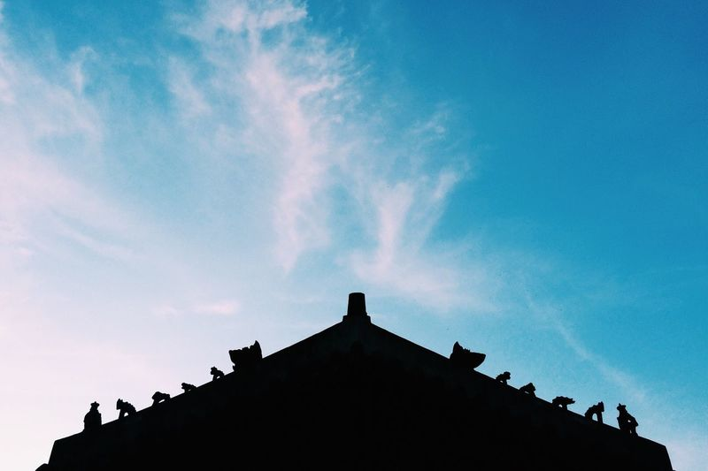 Taking Photos Landscape Nature Clouds And Sky Korean Traditional Architecture Light And Shadow The Architect - 2015 EyeEm Awards