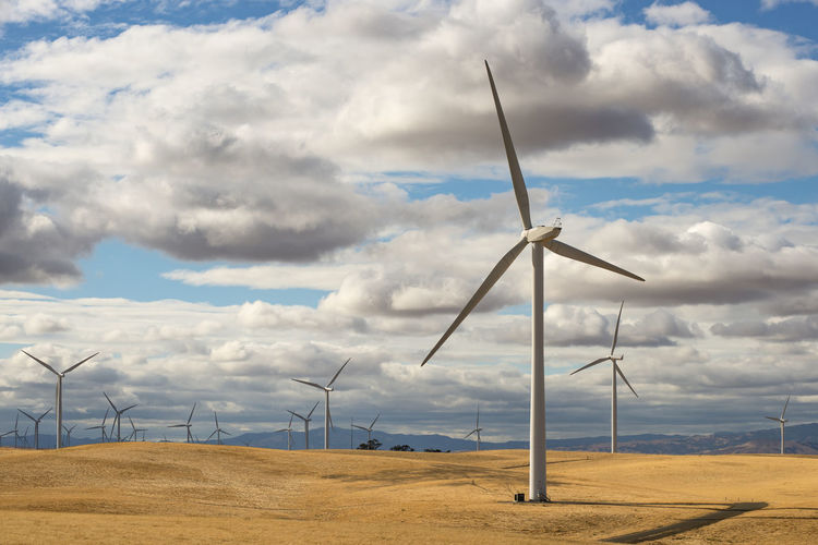 Wind Turbine Turbine Renewable Energy Fuel And Power Generation Alternative Energy Wind Power Environmental Conservation Environment Cloud - Sky Sky Landscape Technology Land No People Day Rural Scene Outdoors Power Supply Sustainable Resources Horizontal Composition California