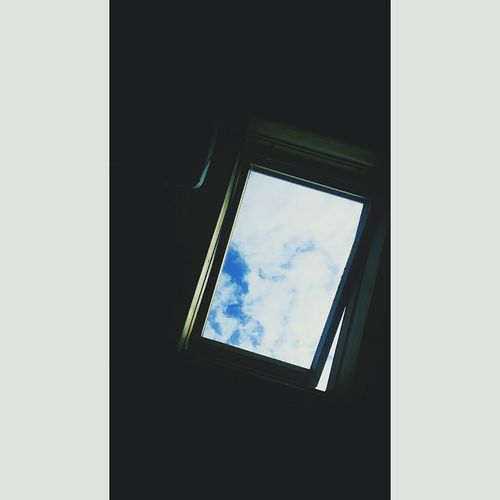 Window Frame Sky Built Structure Low Angle View Cloud - Sky No People Day