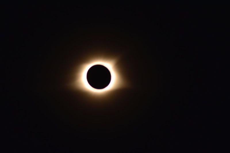 Eclipse Astronomy Solar Eclipse Scenics Outdoors Sky