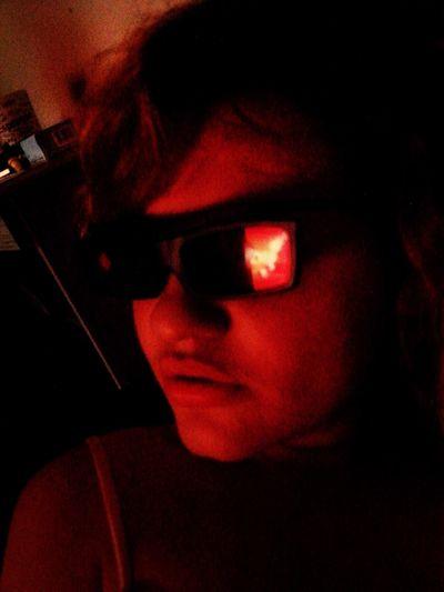Motoqueiro Fantasma em 3D. :)