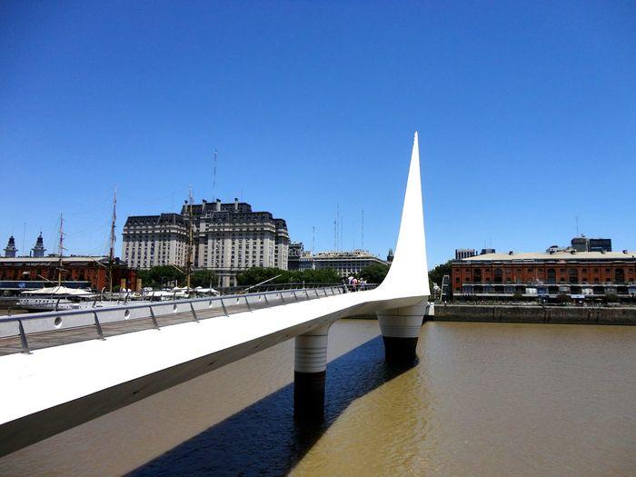 Buenosaires Buenosairescity Travel Destinations Tourism Destination tSouthamerica Argentina Puertomadero Bridge Bridge View Puentedelamujer Calatravabridge Calatravaarchitecture Calatrava