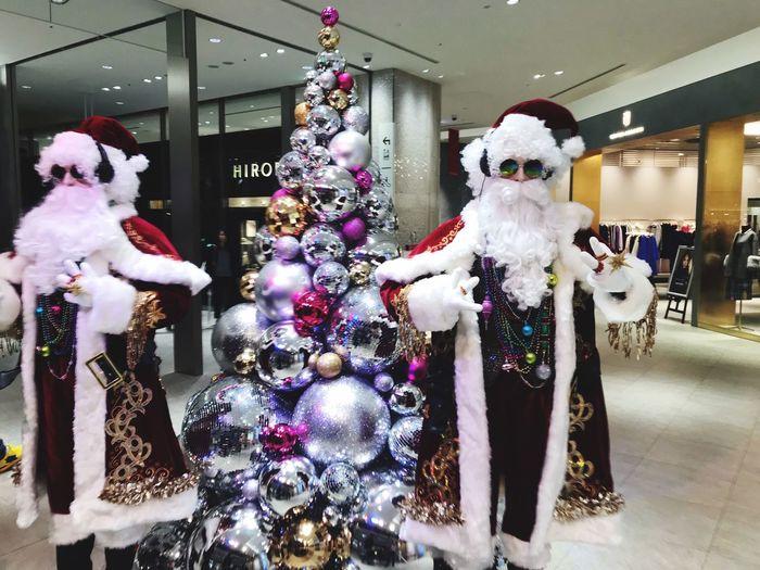 サングラス 日本 サンタクロース Retail  Decoration Human Representation Representation Store Christmas Holiday Moments