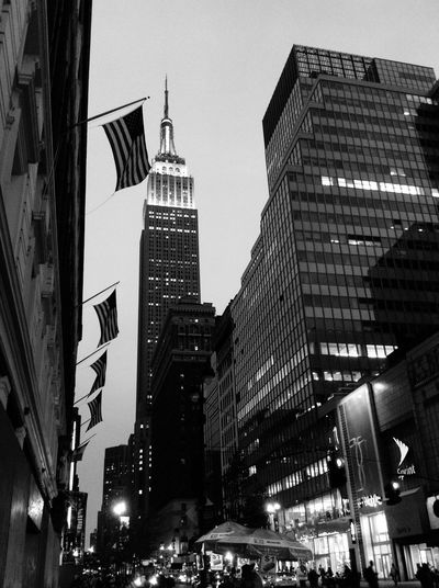 The Street Photographer - 2016 EyeEm Awards August 13th 2013, New york city, New york, United states of America New York City New York Us United States Garment District Empire State Building 34th Street  7th Avenue American Flag