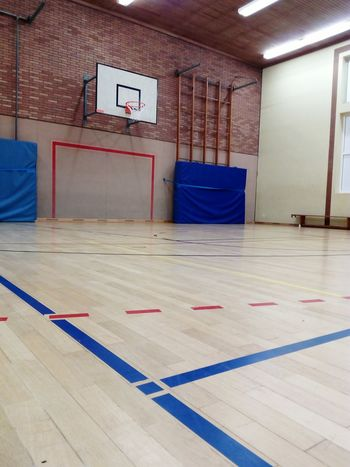gym indoor sports center Sports Center Goal Playing Field Parquet Wooden Paneling Ball Sports Indoor Sports Gym Indoors  Exercising School Gymnasium Sport No People Architecture Health Club