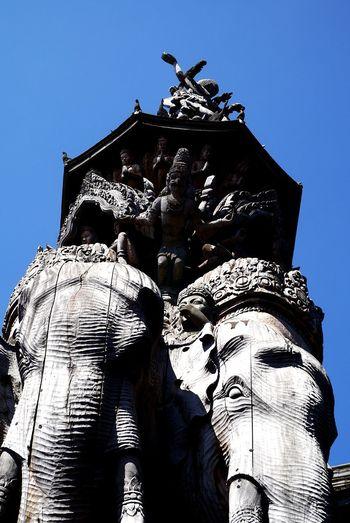 Elelphants Architecture No People Wonderful