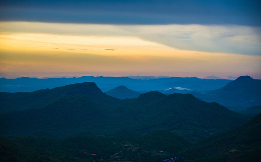 Asia mountain landscape sunset colorful sky background Sky Sunset Colorful Sunrise Background Color Twilight Nature Landscape Blue Clouds Beautiful Yellow Summer Morning Evening Cloud View Light Sunlight Sun Orange Red Night Fantasy Mountain Mountains ASIA Green Hill Travel Natural Forest Thailand Peak Range Tree Environment Landscapes Field Valley China Tourism Scenery Beauty Rural Outdoor Horizon Panorama Country