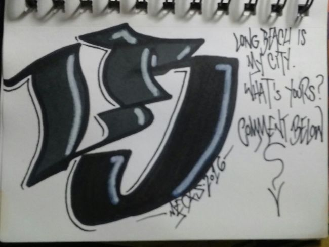 Repp your area!!!⬇⬇⬇⬇ Hanging Out Check This Out Sharpie Sharpie Art Sketchbook Graffiti Blackbook Art, Drawing, Creativity Love Art Playa Larga 562 Mecks1 Lettering Graffiti Writers Graffitiporn Graffiti Art LBC Type Artsy Long Beach California Notes From The Underground Typography Doodles Art Graffiti Copic Markers