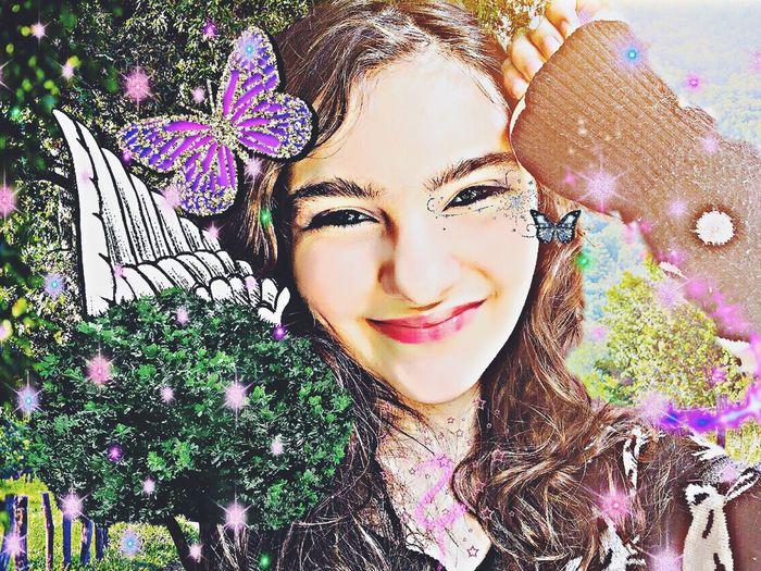 Selfie Vintage Dreamy Nature Dream