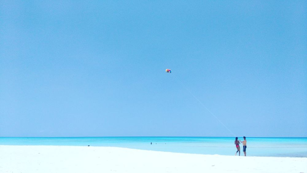 Beach Sea Blue Madagascar  Beach Photography Islands Summer Cloud - Sky Horizon Over Water Beauty In Nature Outdoors Clear Sky Vacations Travel Travel Destinations Full Length Child Leisure Activity Water Day Nature Beauty In Nature Scenics People Men