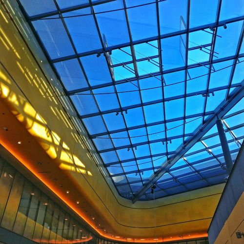 #architecture #dortmund #thiergalerie #mall #shoppingmall #roof #glass Window Pattern Sky Architecture Close-up Built Structure
