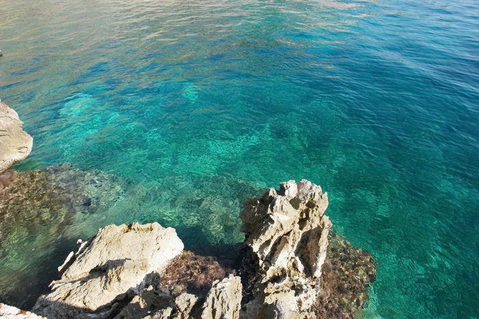Adriatic Coastline at Brela Croatia Adria Croatia Mediterranean  Perspectives On Nature Adriatic Adriatic Coast Adriatic Sea Beauty In Nature Brela  Day Nature No People Ocean Outdoors Tranquility Water