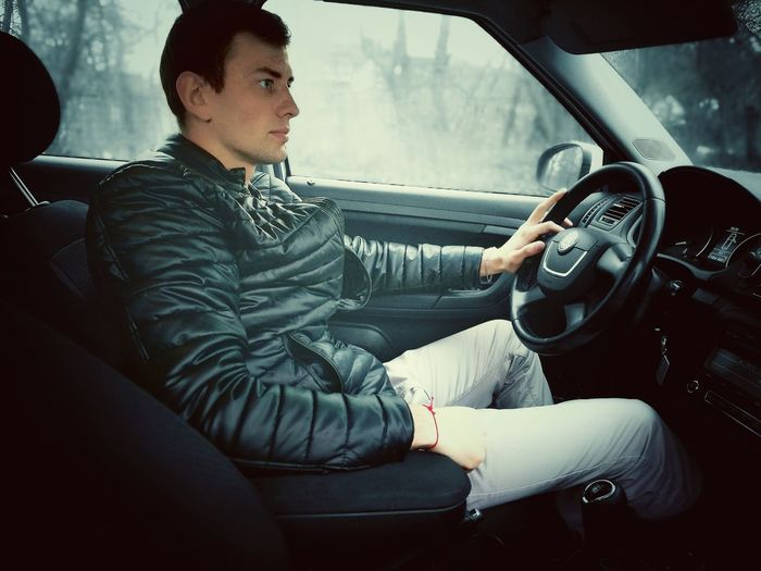 Car Car Interior Retro Styled Sitting Only Men Steering Wheel People Lifestyles Flowers, Nature And Beauty Girls Like Flowers Reflection One Man Only City Day Belarus. Minsk Freedom Sweet Like Cars Goodday Beautiful People One Person Sport Full Length Men