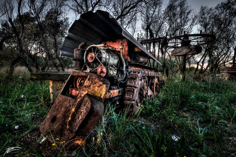 Abandoned Abandoned Places Agriculture Damaged Deterioration HDR Hdr_Collection No People Obsolete Old Urban Exploration Urbex Urbexphotography Vehicle Wide