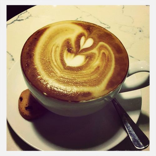 New place new coffee :) ^^ Cappucino