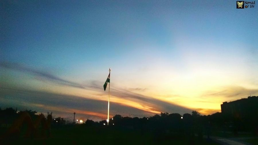 when the sun goes down... Photography Wanderlust Wanderer Sun Light Shadow Shadows & Lights Peace Tricolor India Country Sunset No People Tree Outdoors Beauty In Nature Silhouette Sky Nature Scenics Day