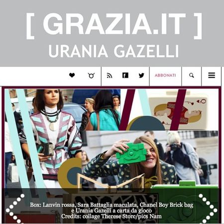 Love it!!! @grazia_it and @black_hair thank you!!!! ❤?? Uraniagazelli Qoh Clutch Grazia italy borsa handmade madeingreece queenofhearts musthave ss13 collection limited design fashion