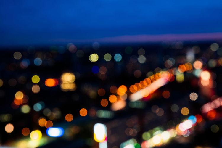Backgrounds Berlin Blue Hour Blur Bokeh Citylights Colors Evening High Angle View Landscape Lights Street Light Streets Urban