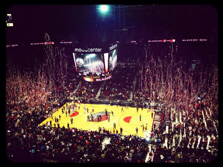 I cant wait for Basktball season!!? go Portland Trail Blazers !?