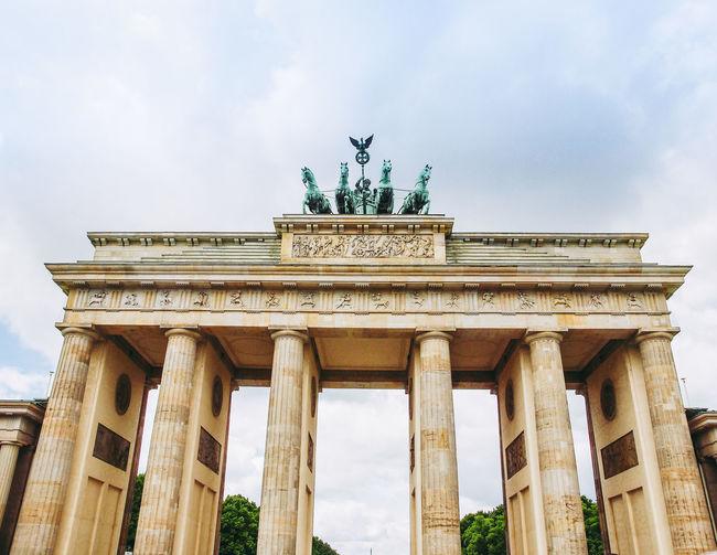 Brandenburger Tor in Berlin Berlin Brandenburg Brandenburg Gate Deutschland Gates Architecture Art Brandenburger Tor Germany
