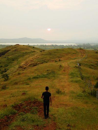 Nature Longwalks Mountain Greenery Sunset Me, My Camera And I Hill Top