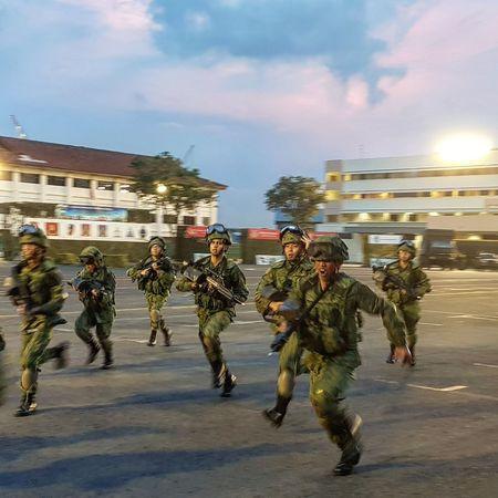 Simulation Soldiers Passing Out Parade Graduation Parade Sembawang Camp Basic Military Training Sg_streetphotography Streetphotography Singapore 7 Sept 2017
