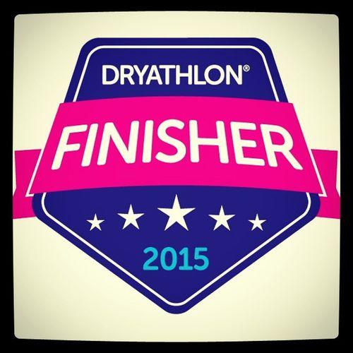1 full month of no alcohol to raise money for Cancerresearchuk £247 raised so far Charity Dryathlon
