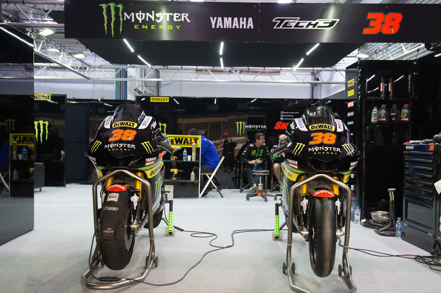 MotoGP riders during the final preseason test before the start of the 2016 MotoGP season BradleySmith Losail LosailCircuit Motogp MotoGP2016 Motorcycle Motorsports Preseason Qatar Race Racing Test