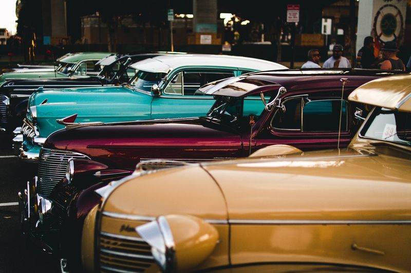 San Diego Chicano Park Car Transportation Mode Of Transport Land Vehicle Outdoors Day No People City Vintage Cars