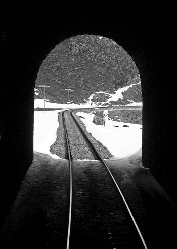 Tunnel Railway Tunnel Railway Track Railway Journey Train Window Turkey Doğu Ekspresi Nature And Technology Snow Black And White Black & White Railway Train