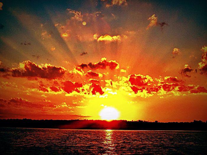 Beautiful Sunset Amazing Saltlife