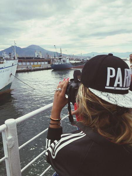 Adventure Club Napoli Vesuvio Mare Amore Vacanza Nave Partenza