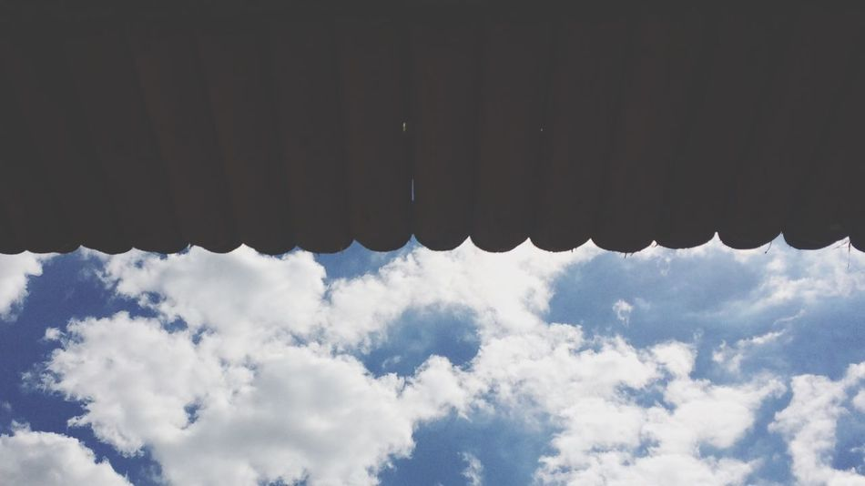 Sky Cloud Blue Low Angle View Cloud - Sky Cloudscape Beauty In Nature Tranquility Nature Scenics Day Tranquil Scene Outdoors No People Heaven Fluffy Cloudy Aerial View Theater Stage Curtains