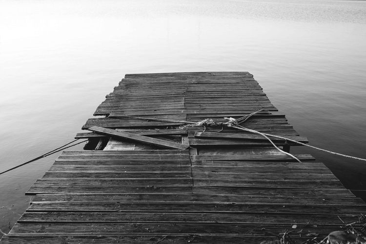 Water Wood - Material No People Day Nature Korea Landscape Blackandwhite Black And White