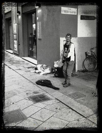 Oh, Mr Tamburine Man, play a song for me... Streetphotography Blackandwhite Urban Exploration Capture The Moment