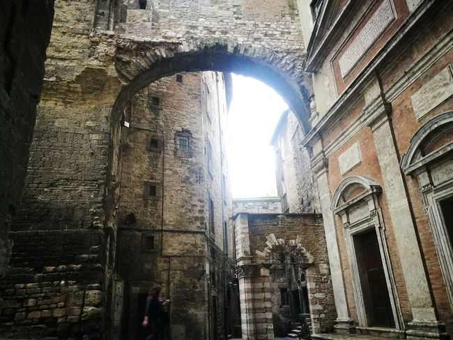 Umbria Perugia Architecture Window Arch Built Structure History Indoors  Sunlight