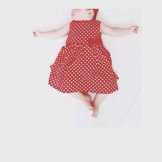 Baby Red Black & White Love
