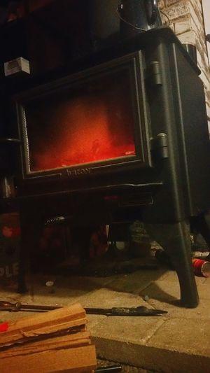 wood burning in comfort: photo by Vanna Nevaeh. First Eyeem Photo Homecomforts Woodburning Stove Rustic