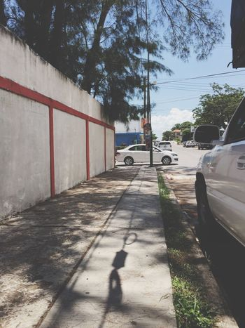 Car Land Vehicle Transportation Mode Of Transport Tree Sidewalk Street Shadow Road Parking Stationary Outdoors Day No People un día normal de trabajo 🌞😓💪😎 Tampico