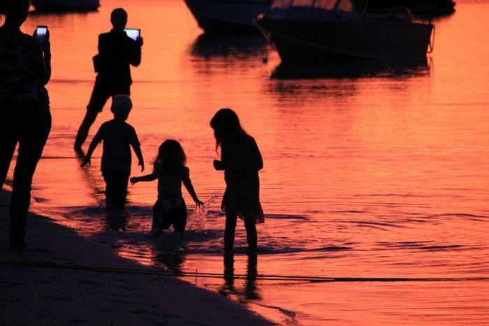 Sunset 『Monkey Mia』. Sunset Monkeymia Australia 夕陽 モンキーマイヤ オーストラリア Chaba