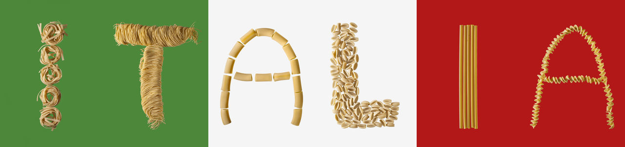 Alphabet Alphabetography Buchstaben Cannelloni Flag Fusilli Italia Italy Letters Pasta Spaghetti Studio Studio Shot Tagliatelle буквы Италия спагетти Тальятелле