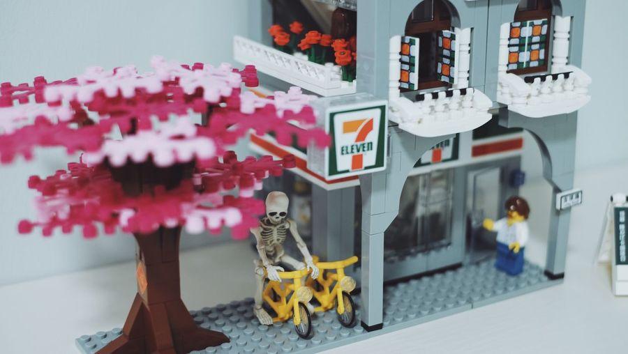 LEGO Seveneleven 7Eleven  711  No People Representation Human Representation Art And Craft Architecture Creativity Toy